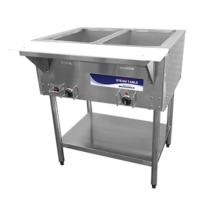 "superior-equipment-supply - Turbo Air - Turbo Air Stainless Steel 30""W Electric Hot Food Steam Table"