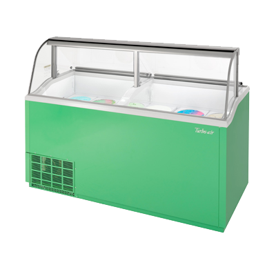 "superior-equipment-supply - Turbo Air - Turbo Air 68"" Wide Ice Cream Dipping Cabinet"