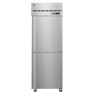 Hoshizaki Stainless Steel One Section Two Half Door Reach-In Refrigerator