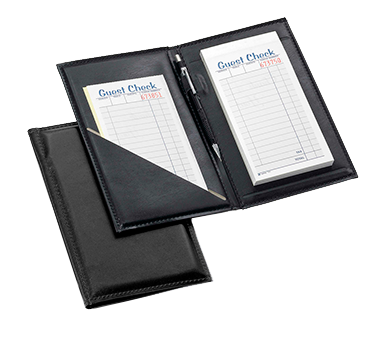 "Tablecraft Guest Check Holder With Pen Loop 5-1/4"" x 8-1/2"""