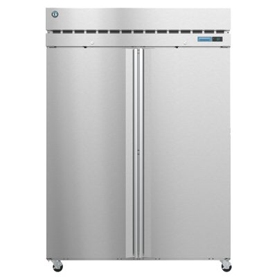 "superior-equipment-supply - Hoshizaki - Hoshizaki Stainless Steel 55"" Wide Reach In Refrigerator Full Height Solid Hinged Doors"