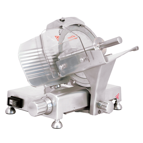 Omcan 9-inch Belt-Driven Meat Slicer