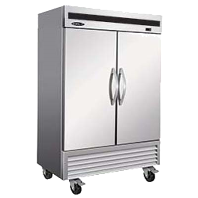 "superior-equipment-supply - MVP Group - IKON Stainless Steel Two Section Two Door Reach-In Refrigerator 53.9""W"