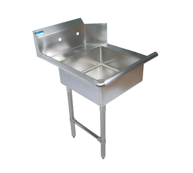 "superior-equipment-supply - BK Resources - BK Resources Soiled Dishtable Straight Design, 48""W x 30-3/8""D x 46-1/4""H, Stainless Steel"