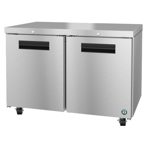 "superior-equipment-supply - Hoshizaki - Hoshizaki Stainless Steel 48"" Wide Reach In Two Section Undercounter Refrigerator"