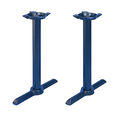 "JMC Furniture 28"" Height Indoor Cast Iron Table Base (Set Of 2)"