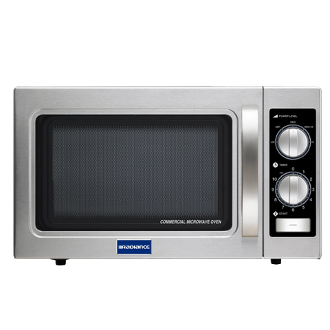 "superior-equipment-supply - Turbo Air - Turbo Air 21.38"" Wide Medium Duty Stainless Steel Microwave Oven"