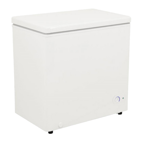 "Omcan 32.5"" Wide Chest Freezer 5.5 cu. ft. With One Basket"