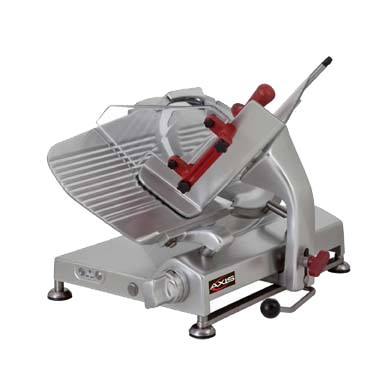 "superior-equipment-supply - MVP Group - Axis Heavy Duty Automatic Meat Slicer With 13"" Carbon Steel Blade"