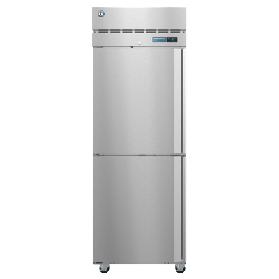 superior-equipment-supply - Hoshizaki - Hoshizaki Stainless Steel Two Solid Half Door One Section Reach-In Freezer