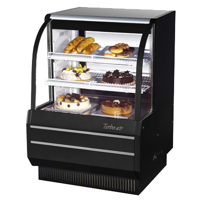 "superior-equipment-supply - Turbo Air - Turbo Air 36.5"" Anti-Rust Coated Steel Non-Refrigerated Bakery Case"