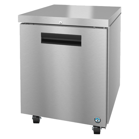 "superior-equipment-supply - Hoshizaki - Hoshizaki Stainless Steel 27"" Wide Reach-in Undercounter Refrigerator"