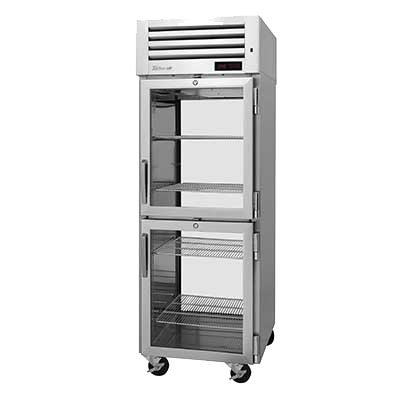 "superior-equipment-supply - Turbo Air - Turbo Air 28.75"" Wide One Section Stainless Steel Pass-Thru Heated Cabinet"