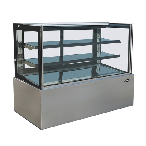 "superior-equipment-supply - MVP Group - Kool-It Ambient Freestanding Full Service Display Case 70.8""W"