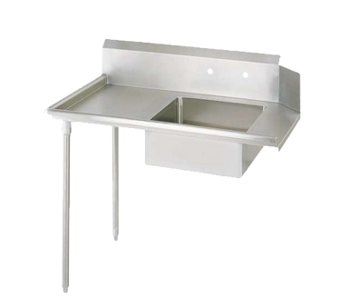 "superior-equipment-supply - BK Resources - BK Soiled Dishtable Straight Design, 36""W x 30-3/8""D x 46-1/4""H, Stainless Steel"