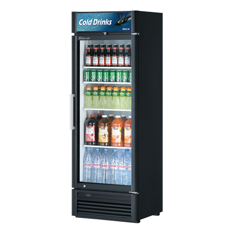 "superior-equipment-supply - Turbo Air - Turbo Air Stainless Steel 26.4"" Wide One-Section Refrigerated Merchandiser"