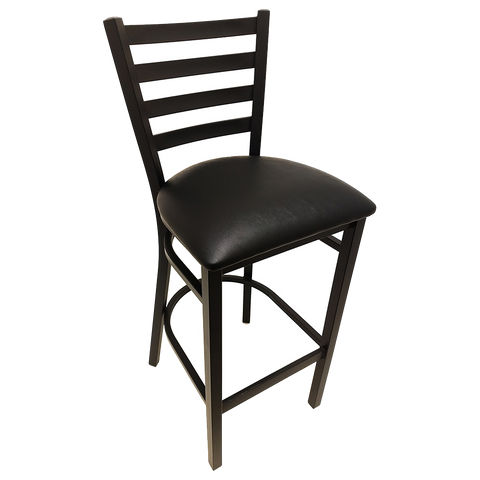 superior-equipment-supply - Oak Street Mfg - Budget Black Bar Stool