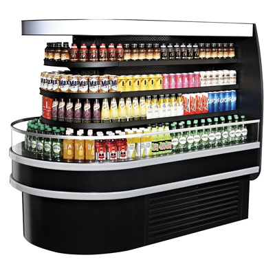 "superior-equipment-supply - Turbo Air - Turbo Air 48"" Wide Refrigerated Display Island"