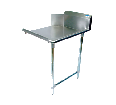"superior-equipment-supply - BK Resources - BK Dishtable Straight Design 72""W x 30-7/8""D x 46-1/4""H Stainless Steel"