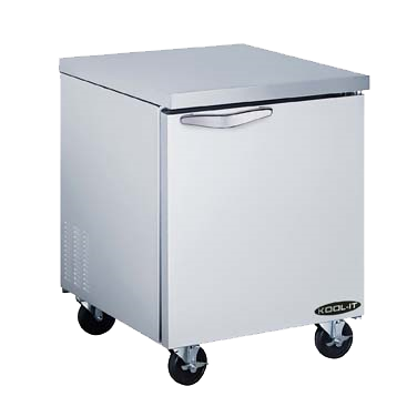 "superior-equipment-supply - MVP Group - Kool-It Stainless Steel One Section Undercounter Freezer 27.5""W"