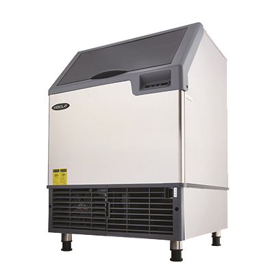 superior-equipment-supply - MVP Group - Kool-It Stainless Steel Undercounter Ice Cube Maker 240 lbs/24 Hr. Production Capacity With 77 lbs. Ice Bin