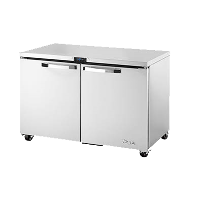 "superior-equipment-supply - True Food Service Equipment - True Stainless Steel ADA Compliant 48"" Wide Undercounter Freezer"