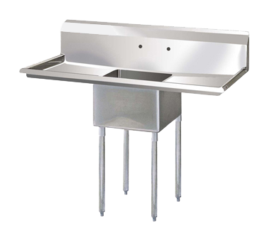 "superior-equipment-supply - Turbo Air - Turbo Air 72"" Wide Stainless Steel One Compartment Sink"