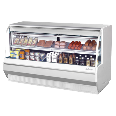 "Turbo Air 72.5"" Wide Refrigerated Deli Display Case"