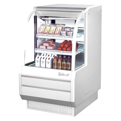"superior-equipment-supply - Turbo Air - Turbo Air 36.5"" Wide Stainless Steel Refrigerated Display Deli Case"