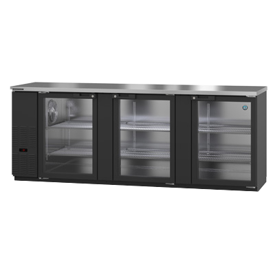 "superior-equipment-supply - Hoshizaki - Hoshizaki Reach-In Three Section Back Bar Cooler 95.5""W (5) 1/2 Kegs"