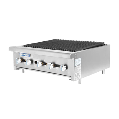 "superior-equipment-supply - Turbo Air - Turbo Air Stainless Steel Radiant 30"" Wide Gas Charbroiler"