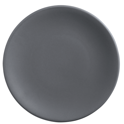 "superior-equipment-supply - World Tableware Inc - World Tableware Driftstone Coupe Plate Granite Porcelain 9"" dia.  -12/Case"