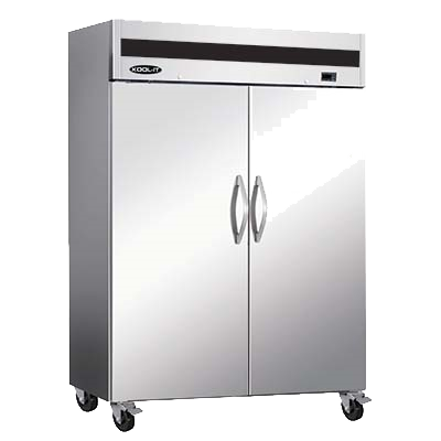 "superior-equipment-supply - MVP Group - IKON Stainless Steel Reach-In Two Section Two Solid Door Freezer 53.9""W"