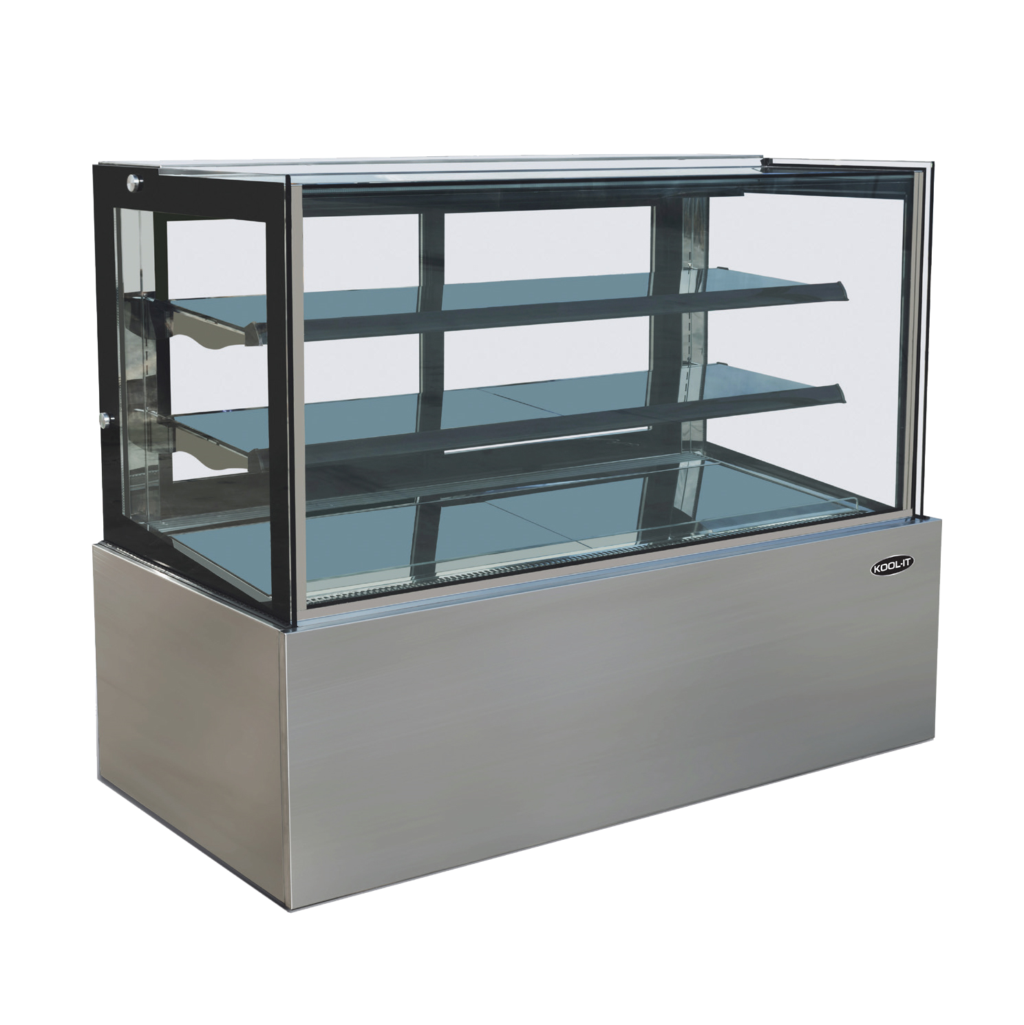 "superior-equipment-supply - MVP Group - Kool-It Ambient Freestanding Full Service Display Case 35.4""W"