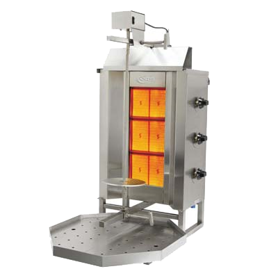 "superior-equipment-supply - MVP Group - Axis Four Infrared Burner Vertical Gas Broiler 18""W"