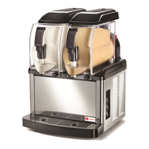 superior-equipment-supply - Grindmaster Cecilware - Grindmaster Cecilware SP-2 Frozen Granita & Ice Cream Dispenser Two 1.3 Gallon Bowls