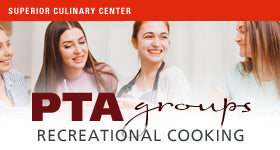 superior-equipment-supply - Superior Culinary Center - Holiday Appetizers – PTA Recreational Cooking Events