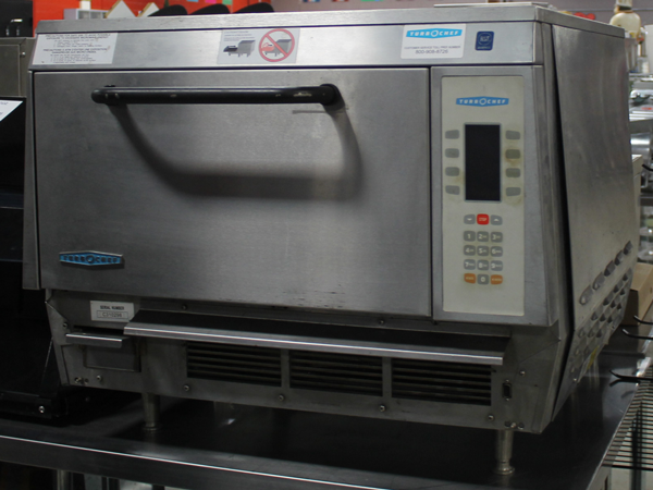 Used Turbo Chef Electric Single Deck Speed Cook Oven