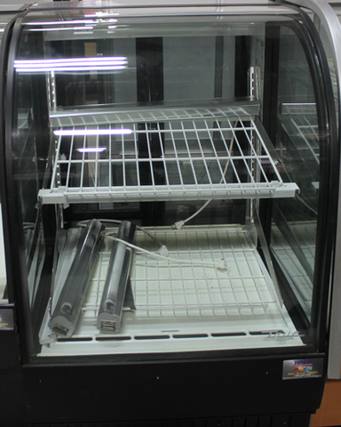 "Used True Curved Refrigerated Display Case 36"" Wide"