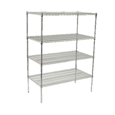 "superior-equipment-supply - Winco - Wire Shelving Set 18"" x 48"" x 72"""