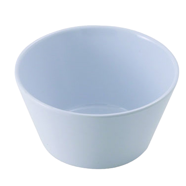 "Bouillon Cup 8 oz. White Melamine 3-7/8"" Diameter - One Dozen"