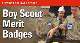 superior-equipment-supply - Superior Culinary Center - Boy Scout Merit Cooking Badge Program