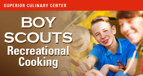 superior-equipment-supply - Superior Culinary Center - Culinary Flavors - Boy Scout Class