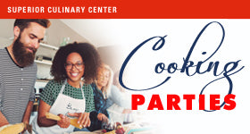 superior-equipment-supply - Superior Culinary Center - Aloha Hawaiian Luau Party - Cooking Parties