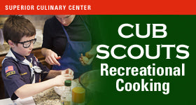 superior-equipment-supply - Superior Culinary Center - Culinary Adventures - Cub Scout Class