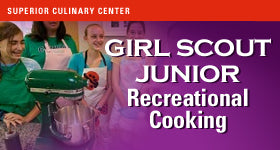 superior-equipment-supply - Superior Culinary Center - Burger Bliss - Junior Scout Cooking Class