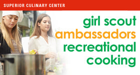 superior-equipment-supply - Superior Culinary Center - Wok N' Roll - Ambassador Scout Cooking Class