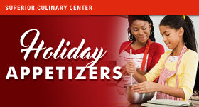 Mommy & Me: Holiday Appetizers Cooking Class (Includes Mom & One Child) - Kids & Teens Holiday Cooking Classes
