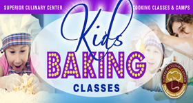 superior-equipment-supply - Superior Culinary Center - Junior Bakers - Cupcake Wars! Kids & Teens Baking Class