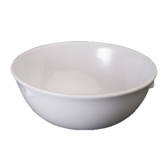 "Nappie 11 oz. White Melamine 4-3/4"" Diameter - One Dozen"